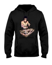 Bruce Lee T Shirt Dj Hooded Sweatshirt thumbnail