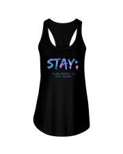Stay Your Story Is Not Over Shirt Ladies Flowy Tank thumbnail