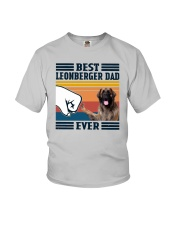 Vintage Best Leonberger Dad Ever Shirt Youth T-Shirt thumbnail