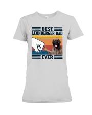 Vintage Best Leonberger Dad Ever Shirt Premium Fit Ladies Tee thumbnail