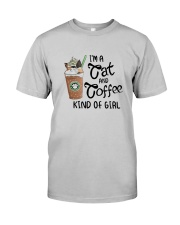 Im A Cat And Coffee Kind Of Girl Shirt Classic T-Shirt tile