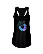 Sunflower Choose To Keep Going Shirt Ladies Flowy Tank tile