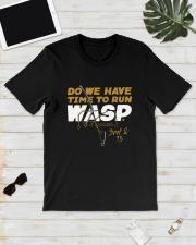 Kansas City Do We Have Time To Run Wasp Shirt Classic T-Shirt lifestyle-mens-crewneck-front-17