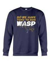 Kansas City Do We Have Time To Run Wasp Shirt Crewneck Sweatshirt thumbnail