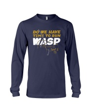 Kansas City Do We Have Time To Run Wasp Shirt Long Sleeve Tee thumbnail