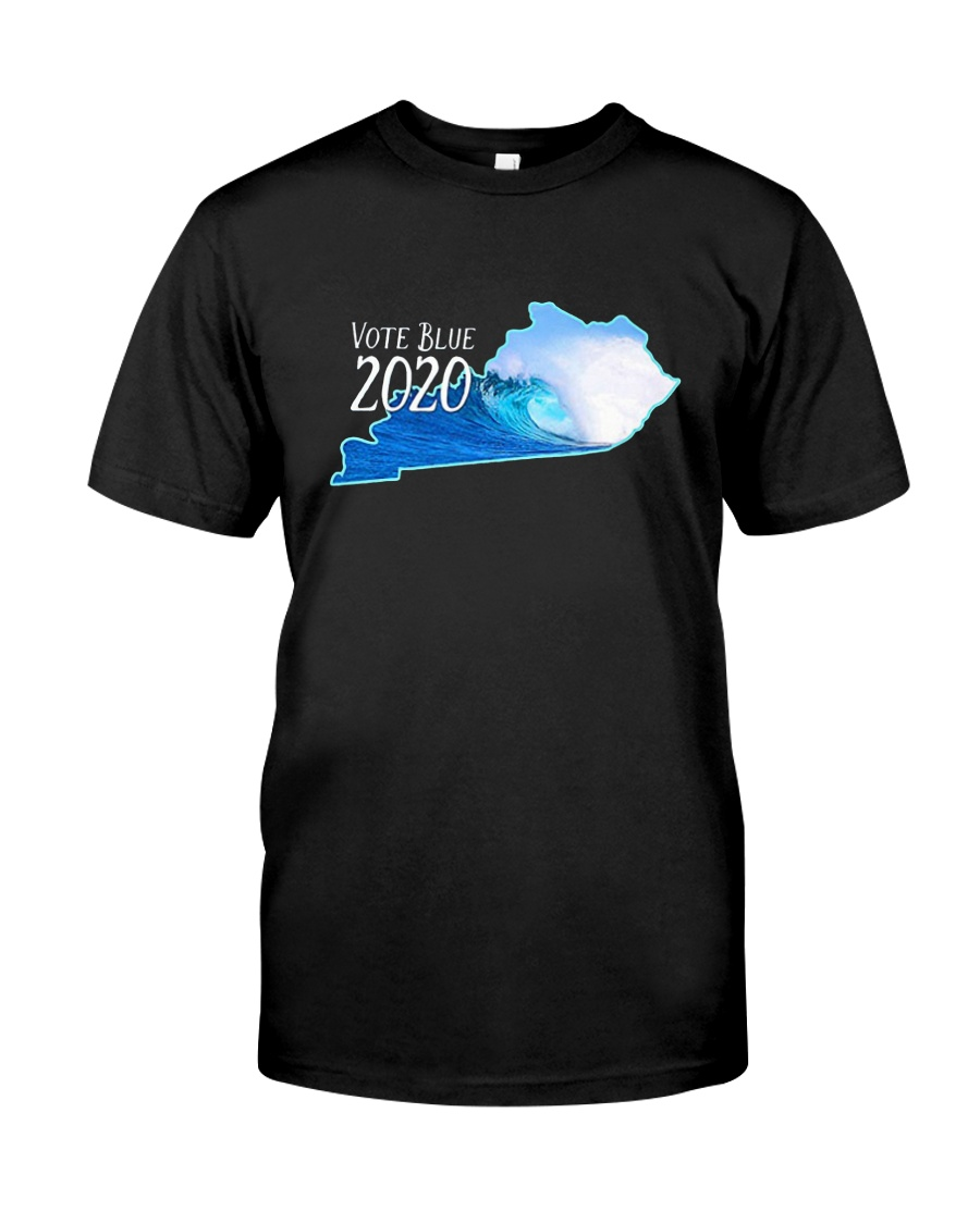 Kentucky Wave Vote Blue 2020 Shirt Classic T-Shirt