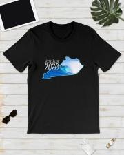 Kentucky Wave Vote Blue 2020 Shirt Classic T-Shirt lifestyle-mens-crewneck-front-17
