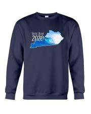 Kentucky Wave Vote Blue 2020 Shirt Crewneck Sweatshirt thumbnail