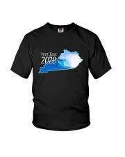 Kentucky Wave Vote Blue 2020 Shirt Youth T-Shirt thumbnail