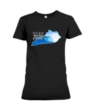 Kentucky Wave Vote Blue 2020 Shirt Premium Fit Ladies Tee thumbnail
