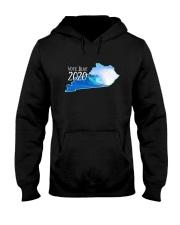 Kentucky Wave Vote Blue 2020 Shirt Hooded Sweatshirt thumbnail