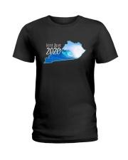 Kentucky Wave Vote Blue 2020 Shirt Ladies T-Shirt thumbnail