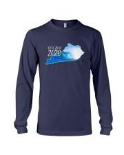 Kentucky Wave Vote Blue 2020 Shirt Long Sleeve Tee thumbnail