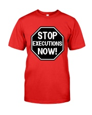 Governor Is Mansion Stop Executions Now Shirt Premium Fit Mens Tee thumbnail
