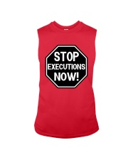 Governor Is Mansion Stop Executions Now Shirt Sleeveless Tee thumbnail