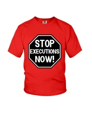 Governor Is Mansion Stop Executions Now Shirt Youth T-Shirt thumbnail