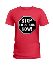 Governor Is Mansion Stop Executions Now Shirt Ladies T-Shirt thumbnail