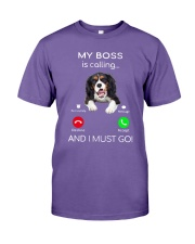 Cavalier King Charles My Boss Is Calling Shirt Premium Fit Mens Tee thumbnail
