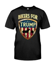 Bikers For Trump Shirt Classic T-Shirt front