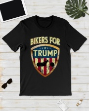 Bikers For Trump Shirt Classic T-Shirt lifestyle-mens-crewneck-front-17