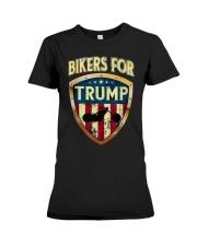 Bikers For Trump Shirt Premium Fit Ladies Tee thumbnail