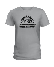 World Class Championship Wrestling Shirt Ladies T-Shirt thumbnail