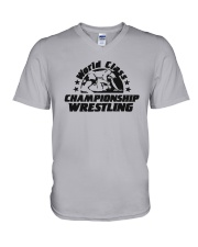 World Class Championship Wrestling Shirt V-Neck T-Shirt thumbnail