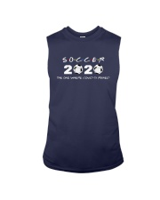 Soccer 2020 The One Where Covid 19 Ruined Shirt Sleeveless Tee tile