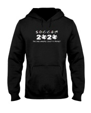 Soccer 2020 The One Where Covid 19 Ruined Shirt Hooded Sweatshirt thumbnail