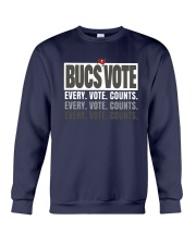 Bucs Vote Every Vote Counts Shirt Crewneck Sweatshirt thumbnail