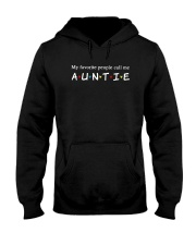 My Favourtie People Call Me Auntie Shirt Hooded Sweatshirt thumbnail