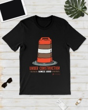 Cleveland Football Under Construction Since Shirt Classic T-Shirt lifestyle-mens-crewneck-front-17