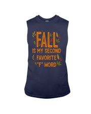 Fall Is My Second Favorite F Word Shirt Sleeveless Tee thumbnail