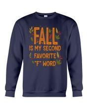 Fall Is My Second Favorite F Word Shirt Crewneck Sweatshirt thumbnail
