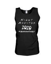 Night Auditor 2020 Quarantined Shirt Unisex Tank thumbnail