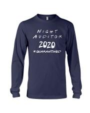 Night Auditor 2020 Quarantined Shirt Long Sleeve Tee thumbnail