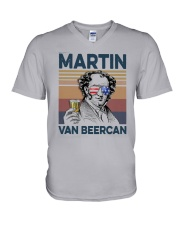 Vintage Drinking Beer Martin Van Beercan Shirt V-Neck T-Shirt thumbnail