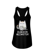 Cat Dungeon Meowster Shirt Ladies Flowy Tank thumbnail