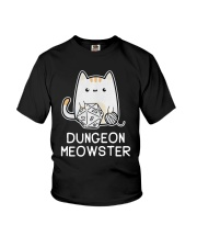 Cat Dungeon Meowster Shirt Youth T-Shirt thumbnail
