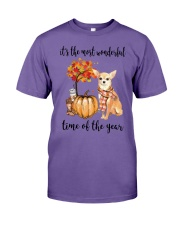 Chihuahua It's The Most Wonderful Time Year Shirt Premium Fit Mens Tee thumbnail