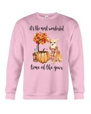 Chihuahua It's The Most Wonderful Time Year Shirt Crewneck Sweatshirt thumbnail