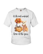 Chihuahua It's The Most Wonderful Time Year Shirt Youth T-Shirt thumbnail