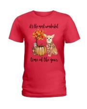 Chihuahua It's The Most Wonderful Time Year Shirt Ladies T-Shirt thumbnail