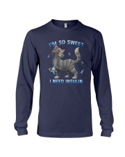 Cat Im So Sweet I Need Insulin Shirt Long Sleeve Tee thumbnail