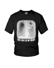 Cat The X Ray Of My Heart Shirt Youth T-Shirt tile