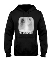 Cat The X Ray Of My Heart Shirt Hooded Sweatshirt tile