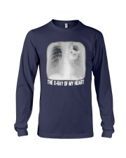 Cat The X Ray Of My Heart Shirt Long Sleeve Tee tile