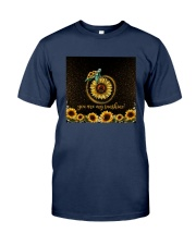 Turtle Sunflower You Are My Sunshine Shirt Classic T-Shirt tile