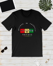 Believe In Yourself Triface Shirt Classic T-Shirt lifestyle-mens-crewneck-front-17
