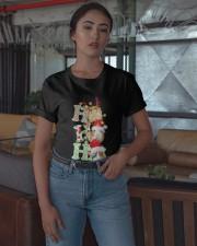 Christmas Guinea Pig Ho Ho Ho Shirt Classic T-Shirt apparel-classic-tshirt-lifestyle-05